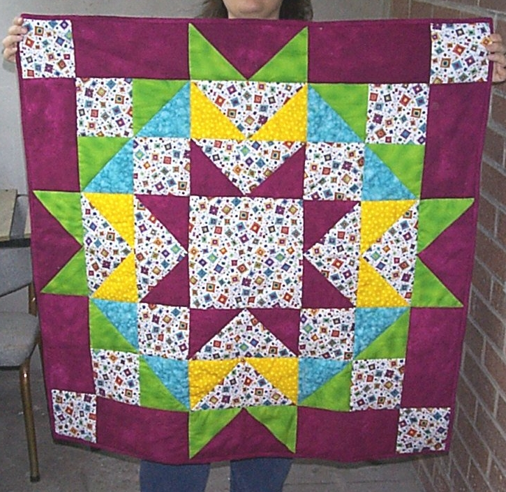 Big block quilt from Quiltmaker Magazine