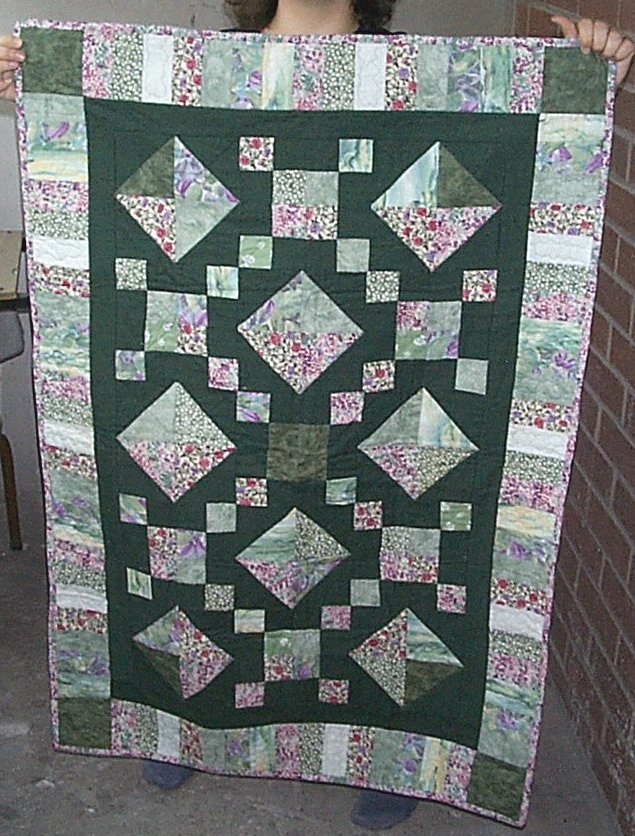jewel box my first ever quilt