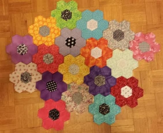 My ongoing Hexagon Project.