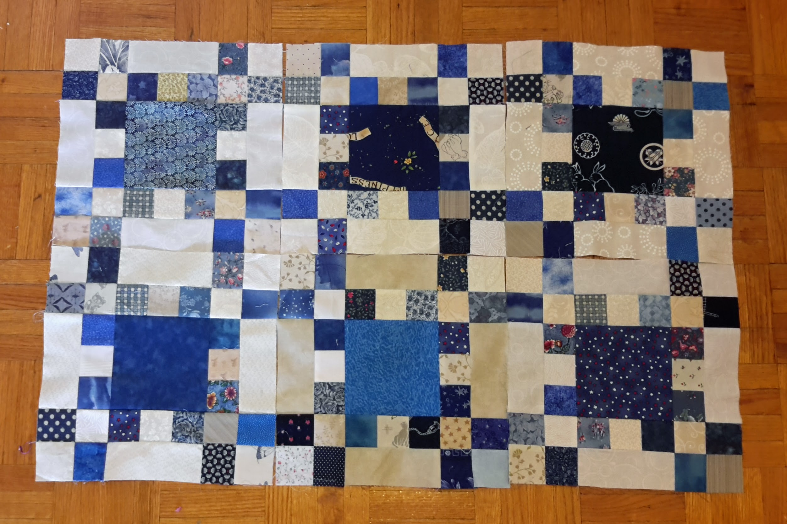 Growing – My Blue Idaho Square Dance Quilt
