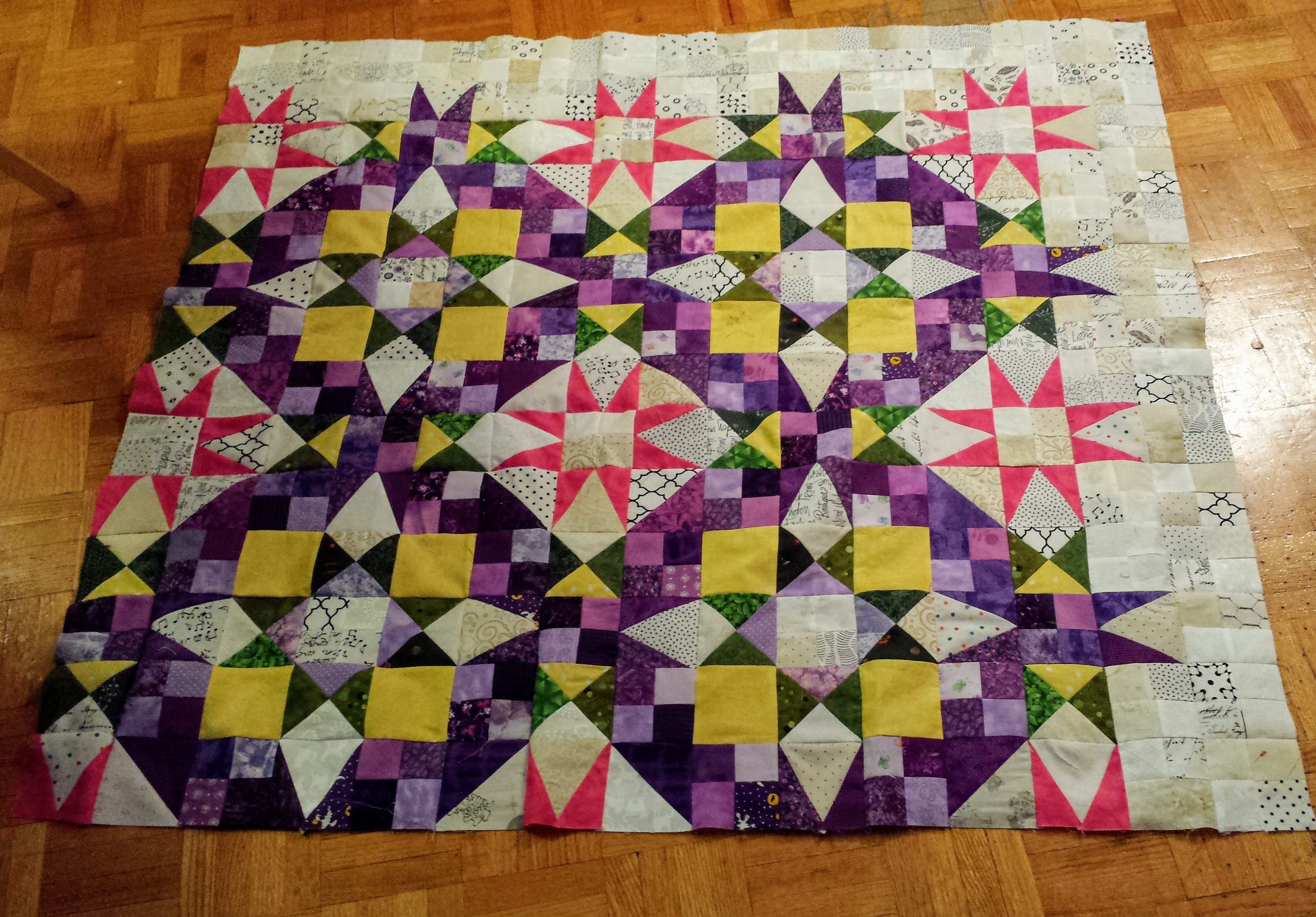 En Provence – Bonnie Hunter Mystery Quilt