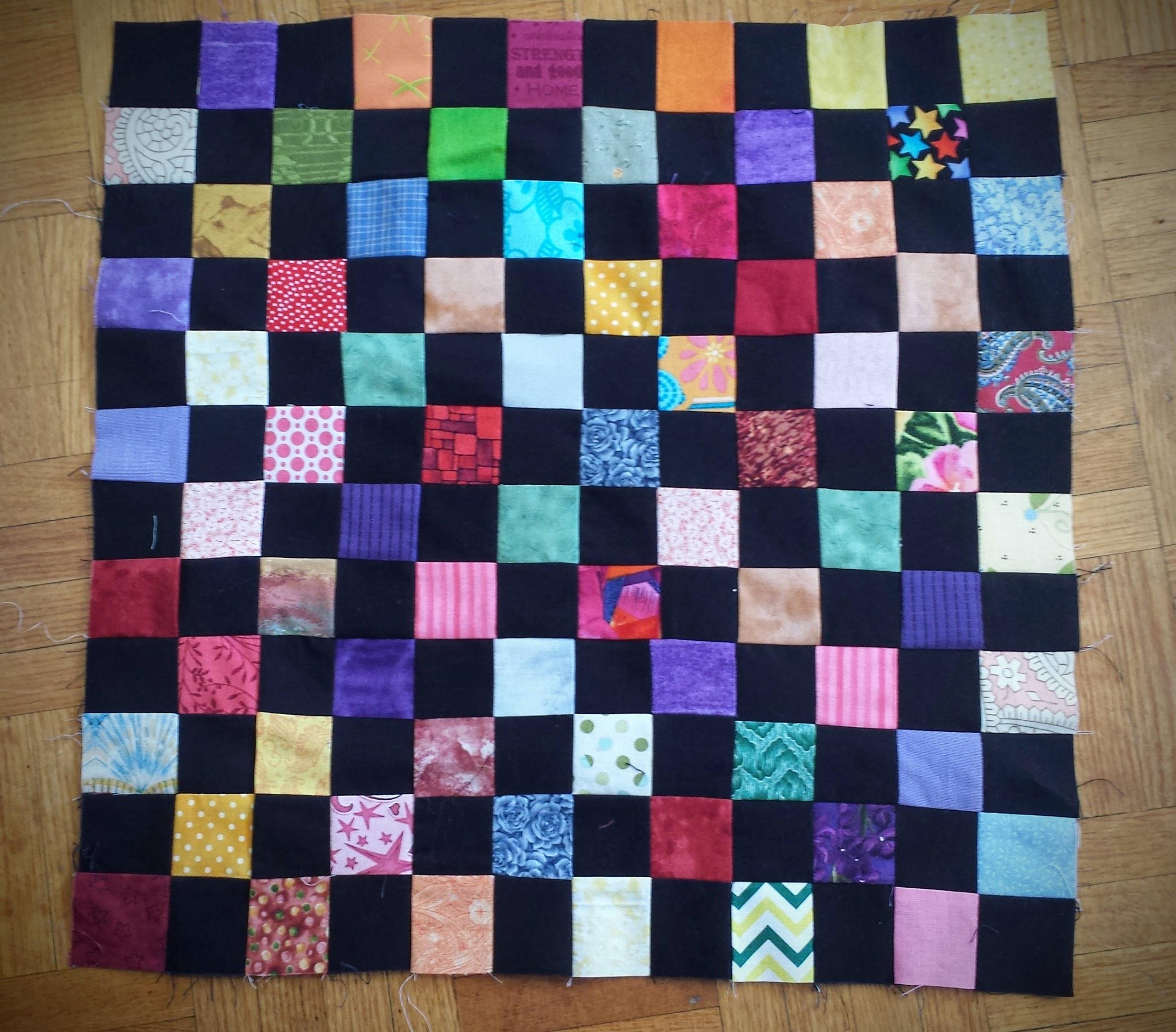 144 Patch Quilt