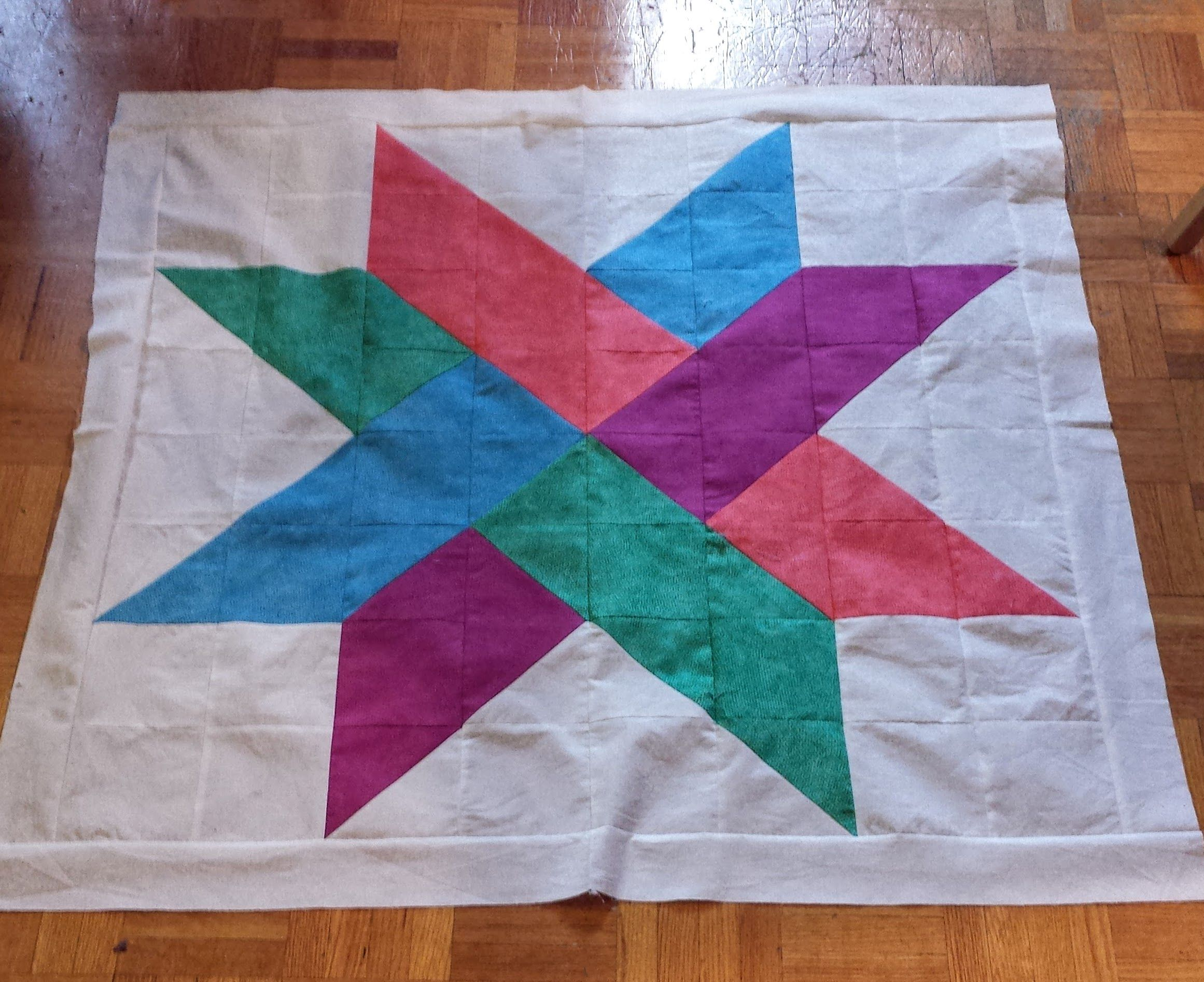 Twisted Star Quilt Gifted – Sew Yummy : twisted star quilt block - Adamdwight.com