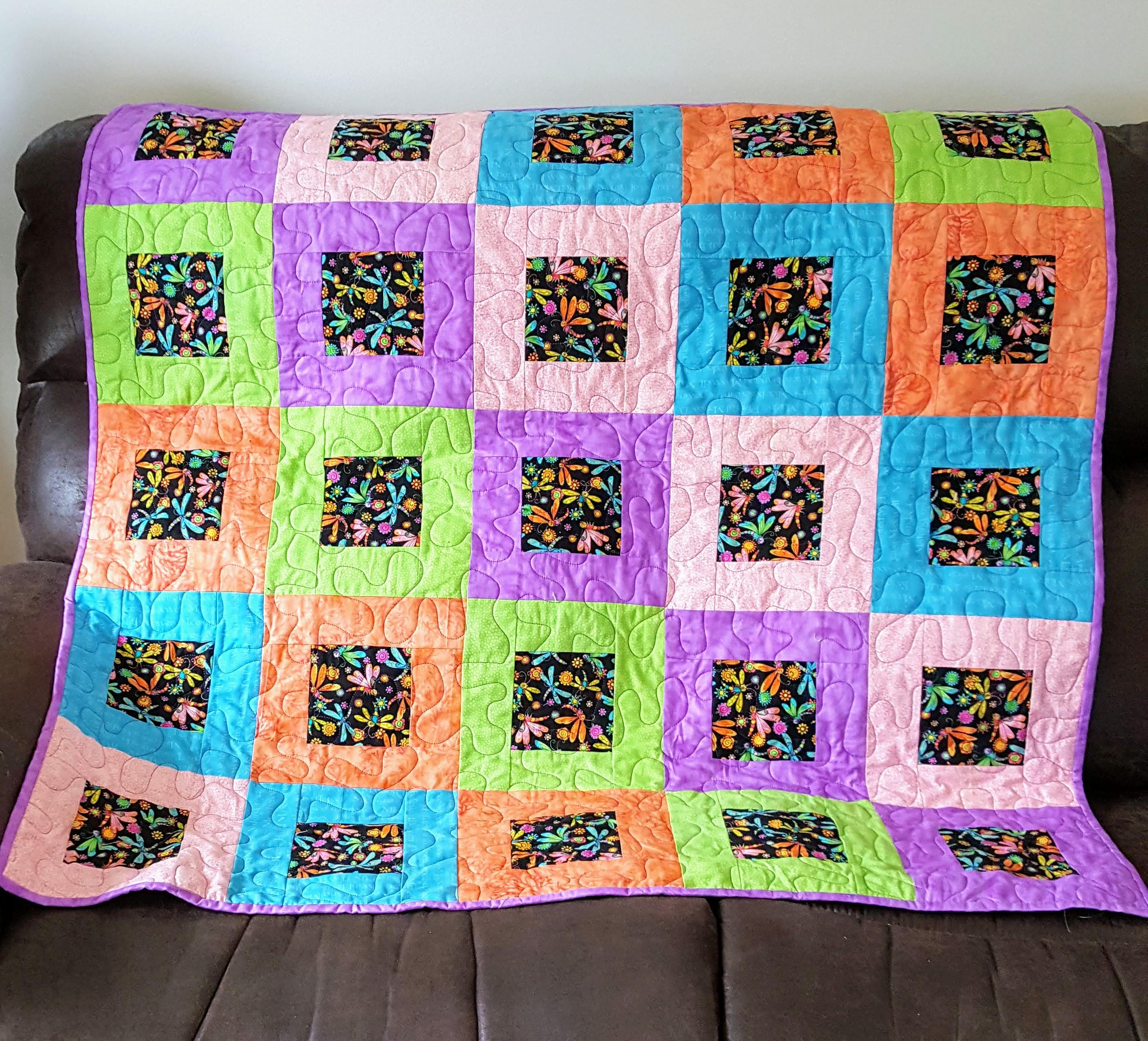 happy blocks quilt