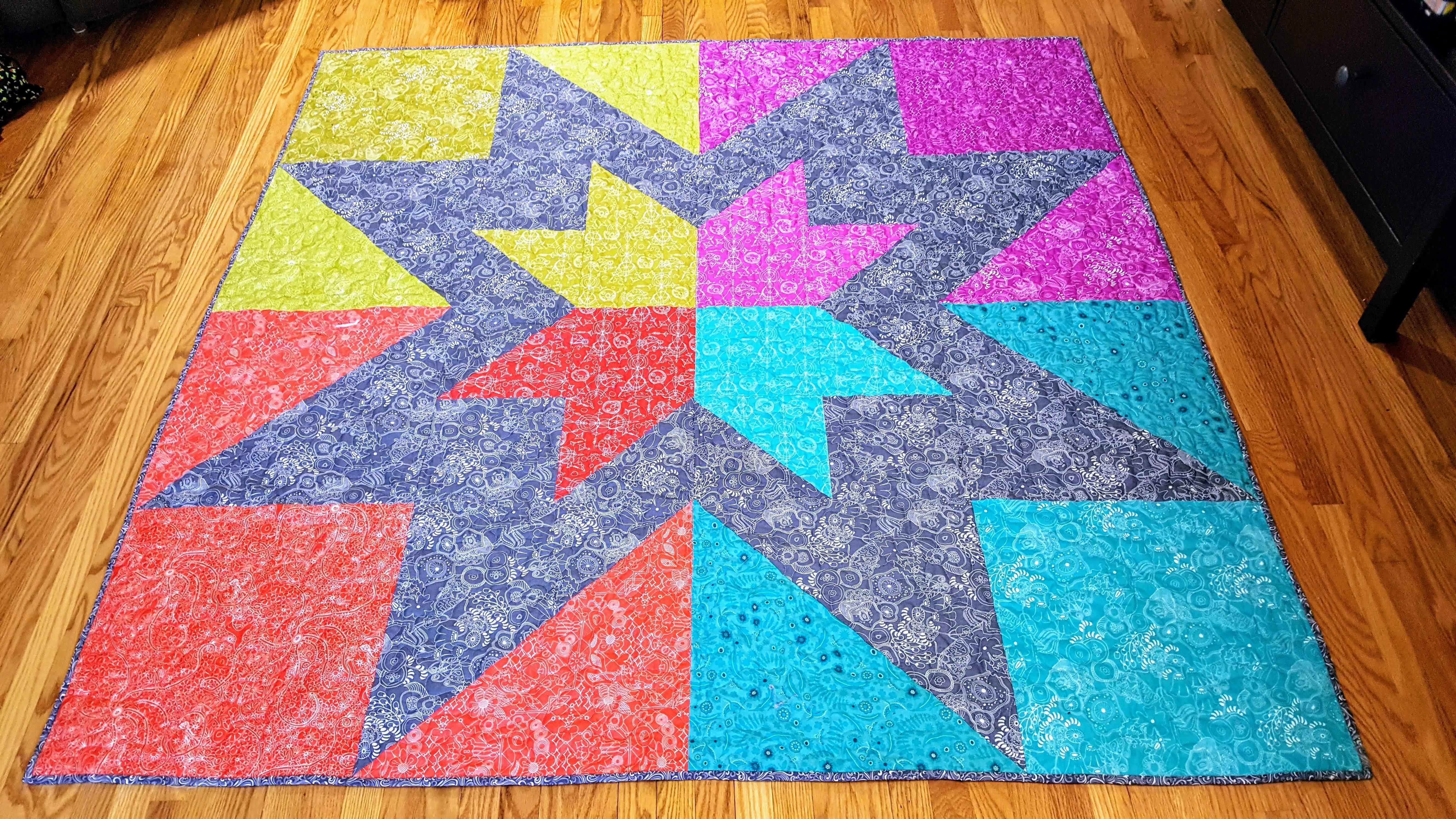 regent street star quilt