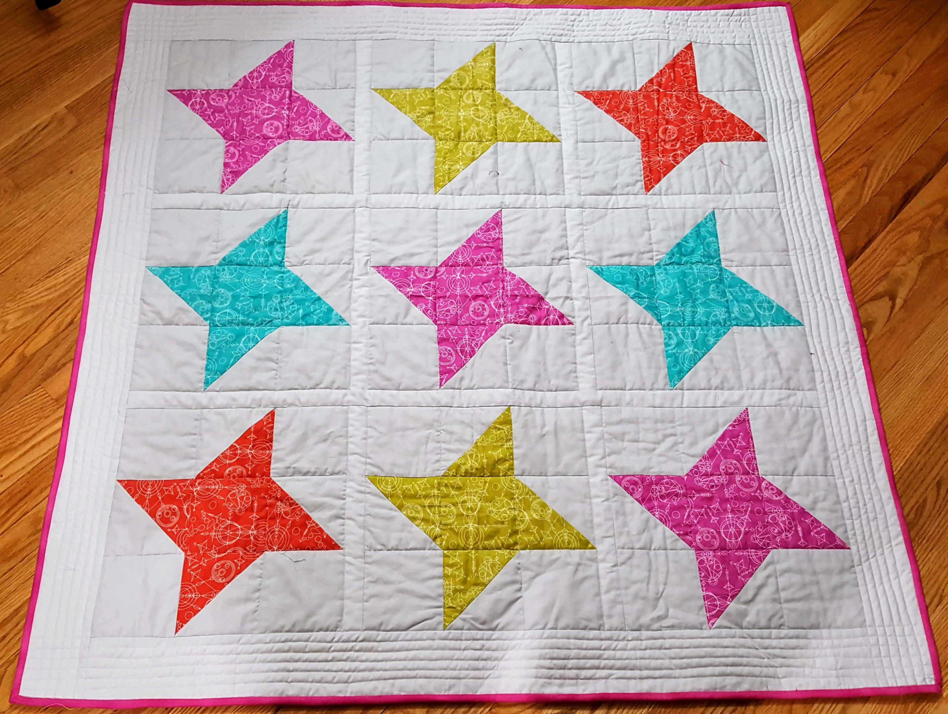 friendship star baby quilt