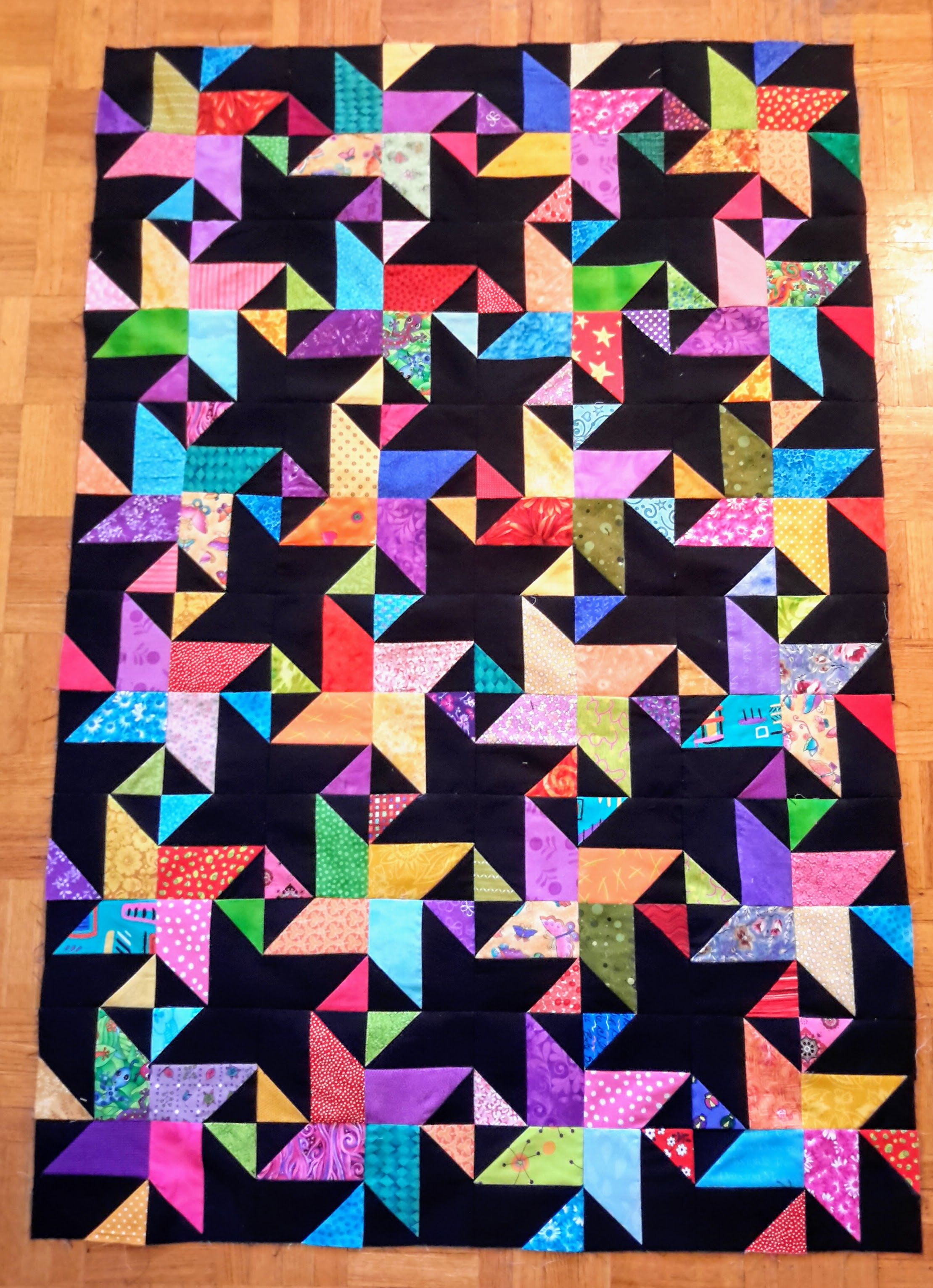 Star Struck quilt designed by Bonnie Hunter