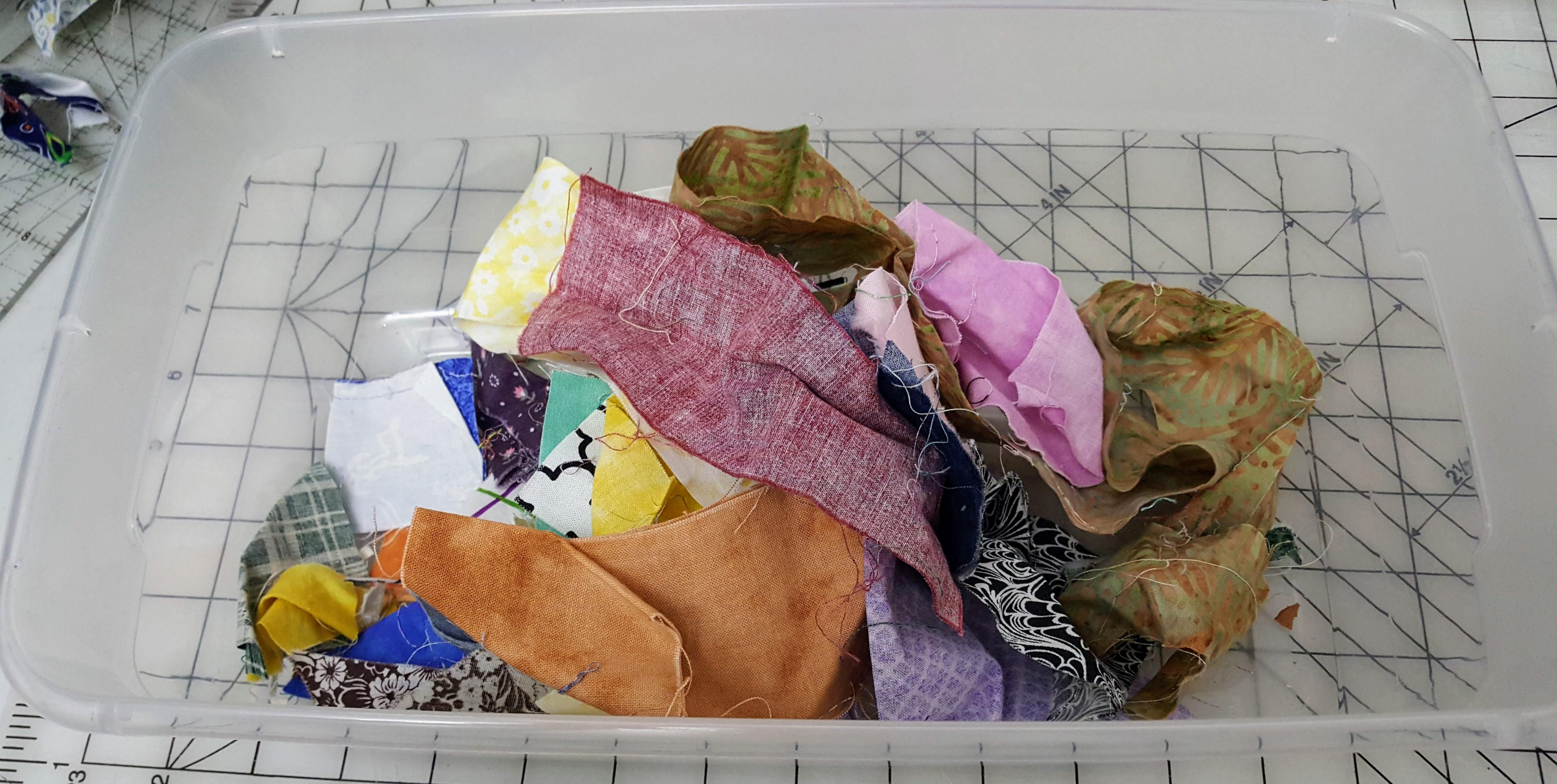 scrap quilting fabric