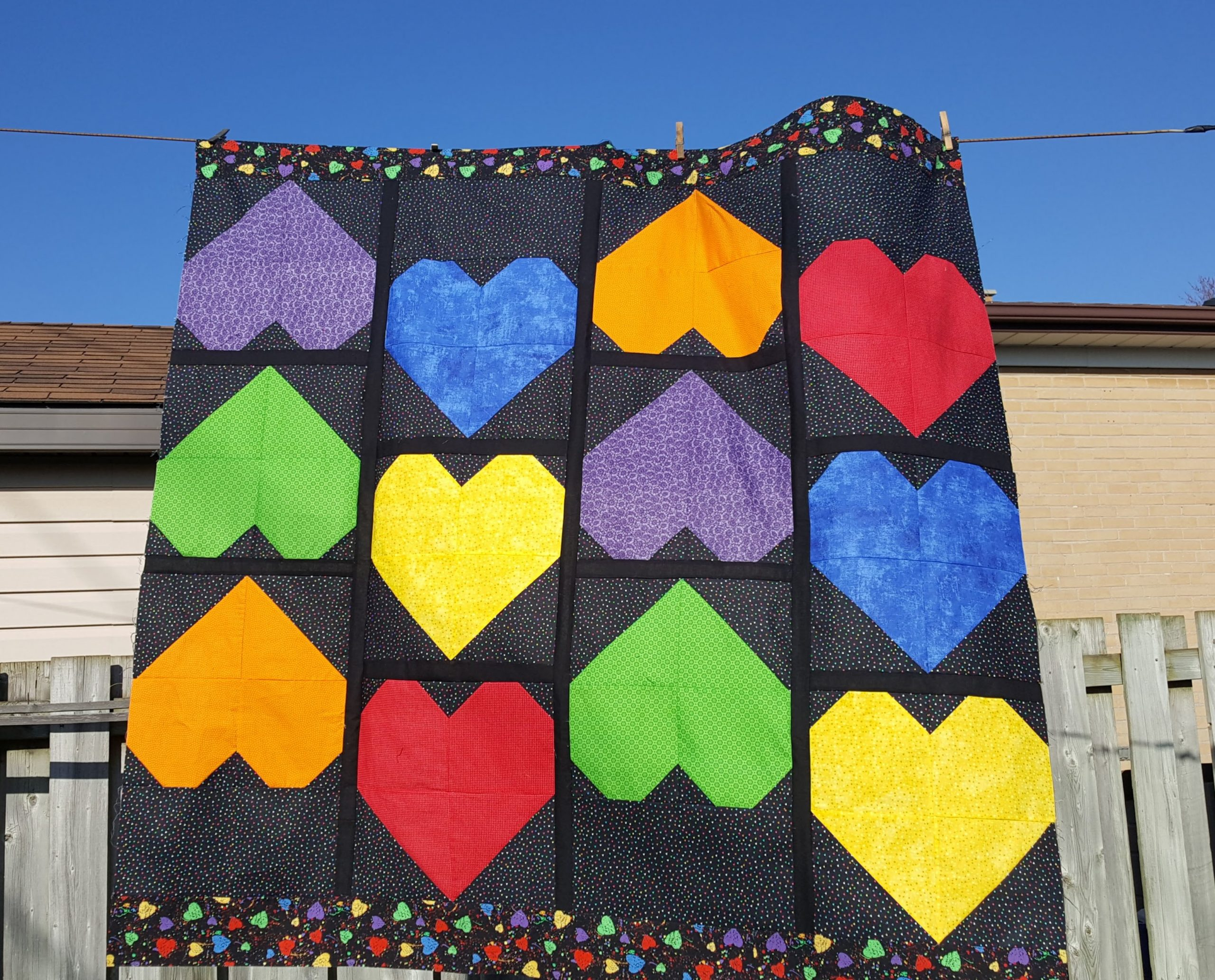 smooches quilt
