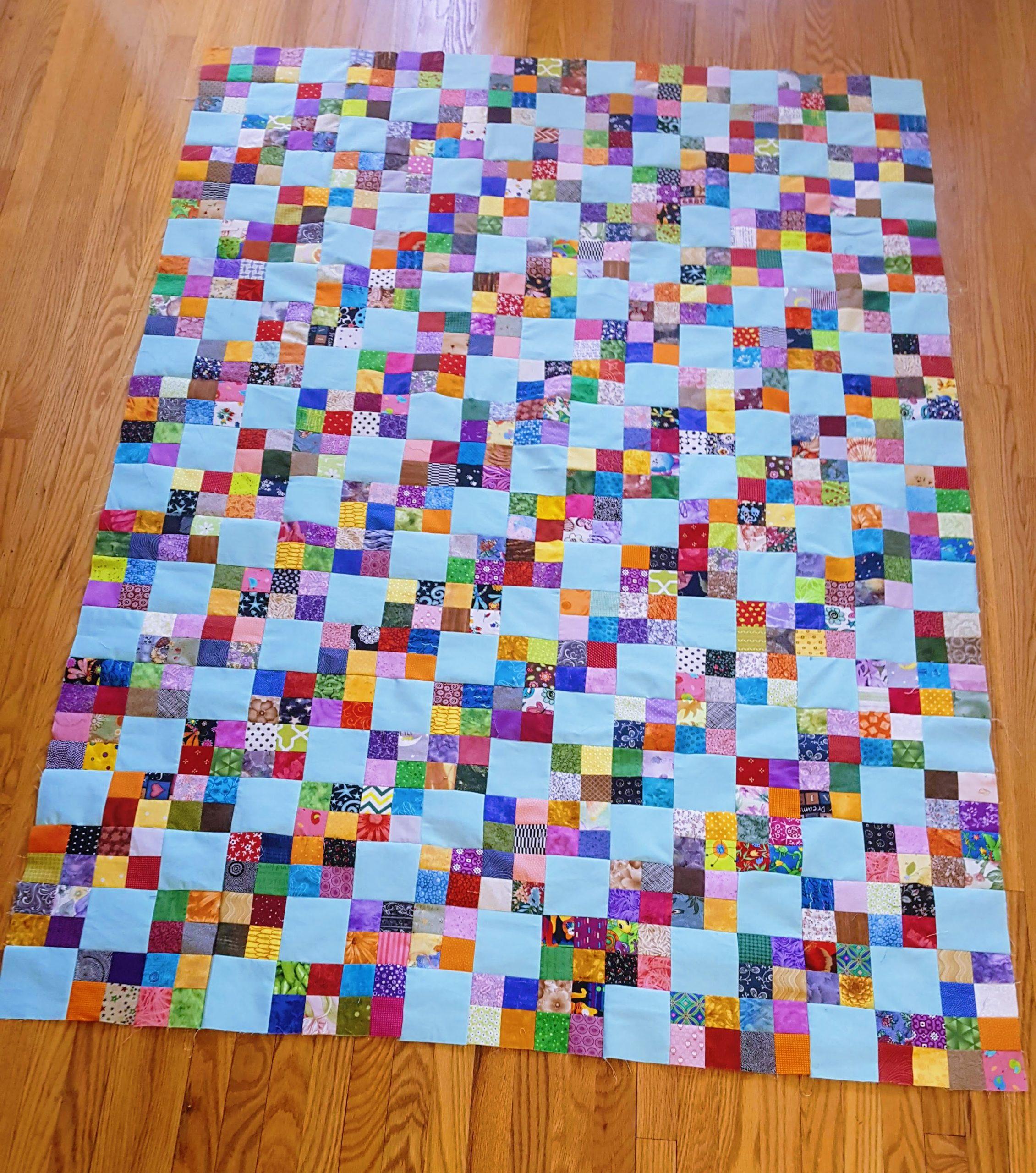 steps quilt