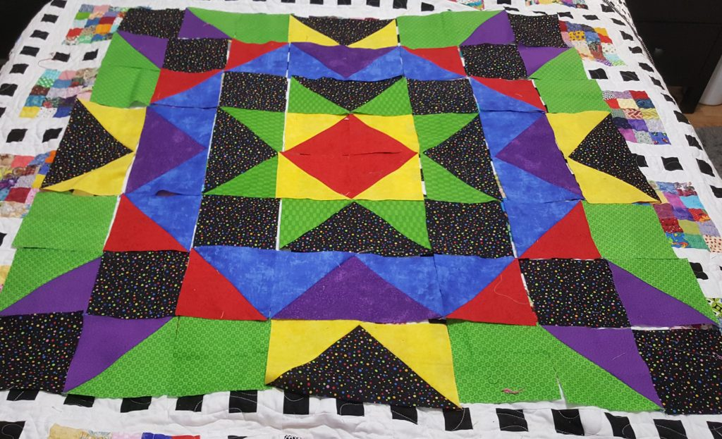 Another star quilt layout