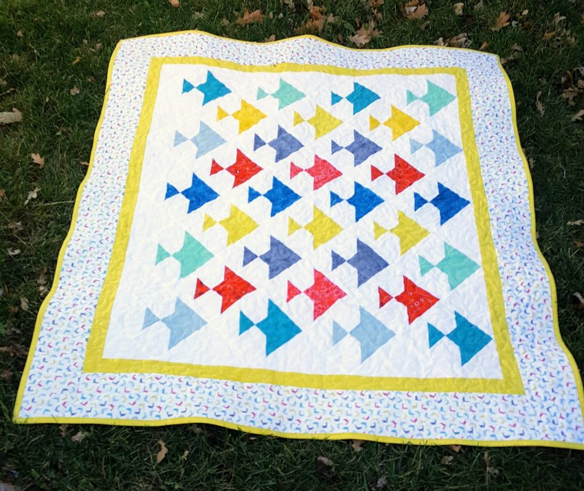 there is something fishy about this quilt