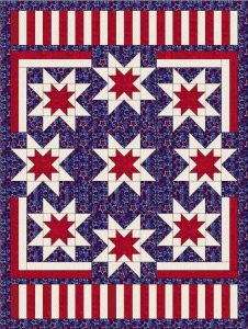 Patriotic Quilt by Quilt Jubilee