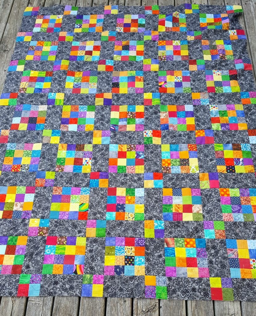 Big and Little Patch Quilt